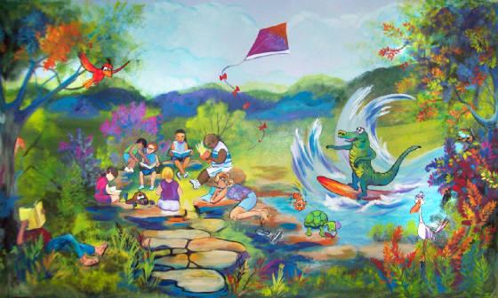 Childrens murals for Children s mural